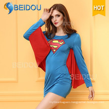 2016 Fancy Dress Japanese Nurse Superman Sexy Halloween Costume