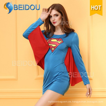 Traje de Halloween Sexy Superman de la enfermera del disfraz 2016