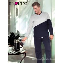 Miorre Hombres pijama% 100 algodón pijama manga larga Set