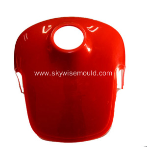 Plastic steering rear cover injection mould
