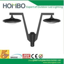 Lámpara LED brillante de alta calidad de la luz del jardín del LED 5 años de garantía Lámpara de calle al aire libre de la lámpara LED de la calle LED