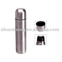 natural color double wall stainless steel vacuum flask