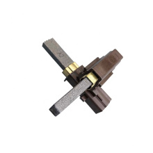 environmental protection carbon brushes 6v/9v/12v/18v/24v motor carbon brush assortments for auto heater blower angle grinder