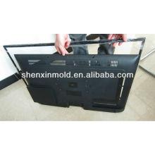 Injeção plástica feita sob encomenda do molde da caixa superior de aparelho de televisão por cabo