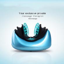 vibrando pescoço massagem instrumento tração travesseiro