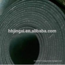 Feuille de caoutchouc d'insertion de tissu en nylon