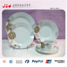 Heißer Verkaufs-Stempel Christmas Style Dinner Plate