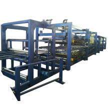Z-lock EPS сэндвич-панели линии для металлических строительных/EPS сэндвич панели барабан машины линии