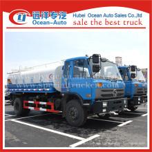 Dongfeng 15000liters 4X2 conducir rueda de agua aspersión de camiones para la venta