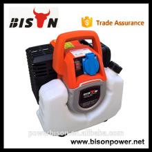 Bison China Zhejiang Preço de Seno Wave compacto leve apenas 8,5 kg Digital 1000W gasolina inverter gerador