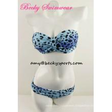 Lady′s Swimsuit Bikini Beachwear Bandeau Style
