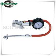 Marque el indicador del neumático / la inflación del neumático / el arma del neumático con la cubierta de goma