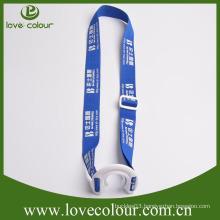 Custom water bottle holder neck strap lanyard