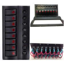 Marine / Boat Rocker Switch Panel mit LED-Anzeige / Wippschalter Panel