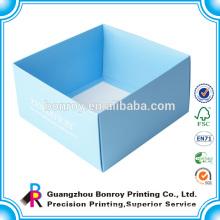 white sliding paper folding gift box packaging box for dolls packaging
