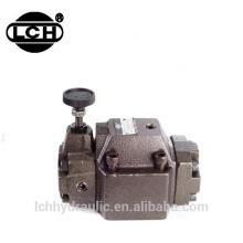 yuken hydraulic pressure reducing valve control