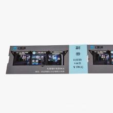 Ticket Kartenpapier Kartendruck Kundenspezifische Größe