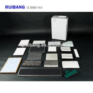Filtro de ar ativado ativo do filtro do carbono do photocatalyst de China