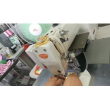 automatic pattern sewing for garment shoe leather