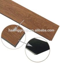 Luxury vinyl click flooring plank with unilin click system
