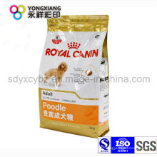 Personalizado pet food embalagem saco de plástico para o cão, peixe