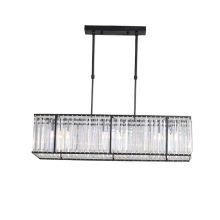 Luminárias de vidro para sala de jantar