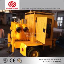 Unité de pompe à eau de 6-8 pouces avec moteur diesel pour irrigation agricole