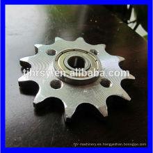 Rueda de cadena de placa fabricada en China