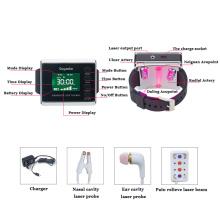 equipamento médico do relógio da terapia do laser