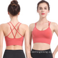 Criss Cross Back Running Bra para talla grande
