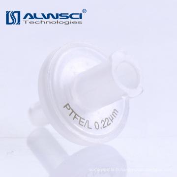 Fournitures de laboratoire Filtres à seringues en cellulose stériles de 0,45 micron