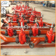 API Drilling Mud Manifold To Inject The Drilling Mud Into Well