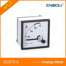 Amperímetro eléctrico Amperímetro AC / DC Galvanómetro de panel AC DC de alta calidad