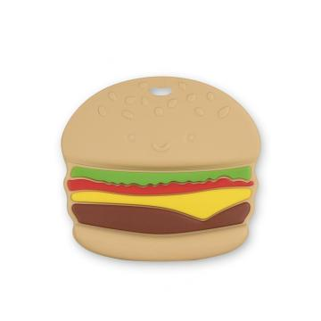 I-Hamburger Baby Chew I-Silicone Teether