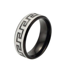 Ajusteur d'anneau en argent de haute qualité, anneau de bijoux, anneau avec le modèle de caractère