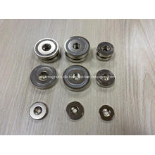 Neodym-Magnete mit runder Basis