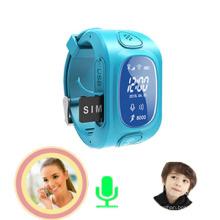 Perseguidor del reloj de los niños GPS con el monitor, alarma Anti-perdida (wt50-kw)