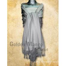 Bufanda de viscosa en color liso