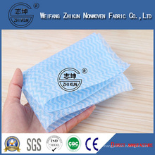 Well Packaged Spunlace Nonwoven Wipes Non-Woven Fabric
