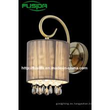2014 Nueva línea de diseño Lámpara de pared de tela (8163 / 1W0