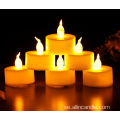 Droppande Flameless Led Votive Tealight Candle