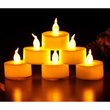 Lilin Tealight Led Tanpa Api Flameless