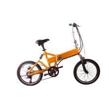 Bateria escondida do lítio 36V 10Ah bicicleta elétrica de dobramento de 20 polegadas