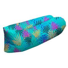 Saco de dormir inflável de dobramento exterior do sofá do ar exterior da impressão do Vadio portátil