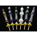 Nectar Collector 14mm Titanium Nail Wearable Glass Smoking Pipes Glass Pipe Oil Rig