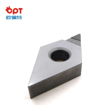 Cnc Turning Insert Pcd Diamond Indexable Insert