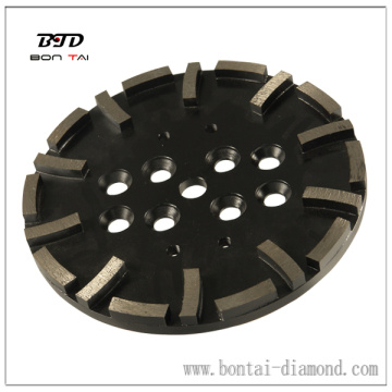 10 inch Diamond Grinding Plate for grinding concrete and masonry surface