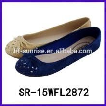 Hot selling slip on flats women fashion flats shoes women 2015