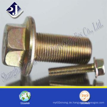 Legierter Stahlflanschschraube für Automobil (IFI-111)