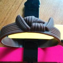 Großhandels-kundengebundenes Silikon-Armband des Silikon-Silikon-3D (KD-0768)